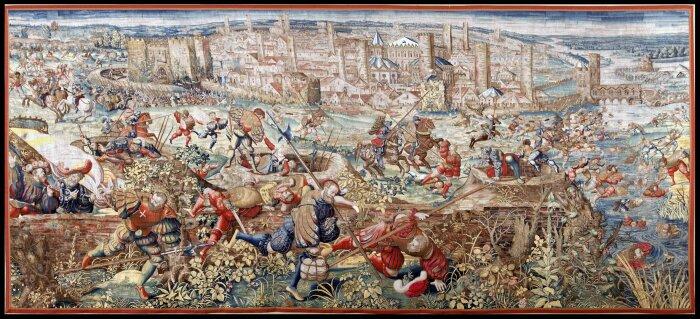 Само собой, средневековая фортификация не ушла за один день. /Фото: alwariet.com.