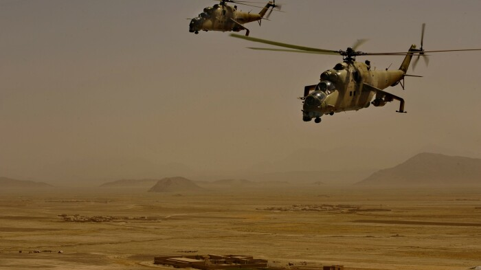 Советские вертолеты были одними из лучших в мире. /Фото: wallpapershome.ru.