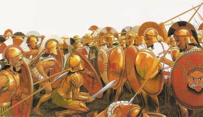 Началась война за господство в Греции. /Фото: yaplakal.com.