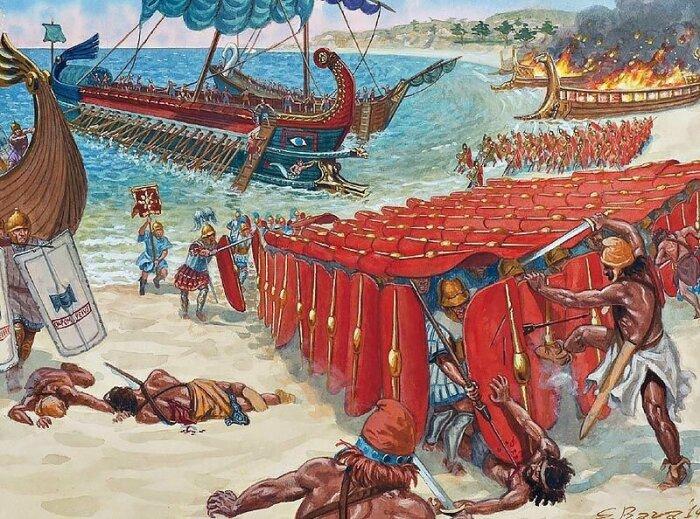 В итоге спартанцы помогли римлянам в захвате Греции. /Фото: youtesla.ru.