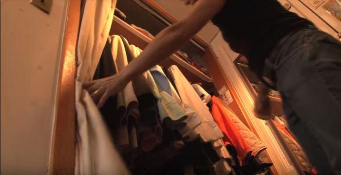 Место для хранения одежды.