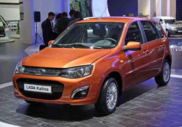 Новая модель Lada Kalina.