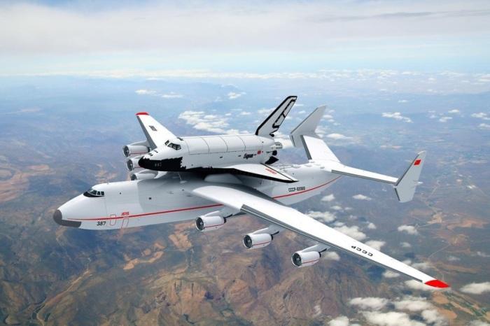 Советский Ан-225 «Мрия» создавался для космической программы.