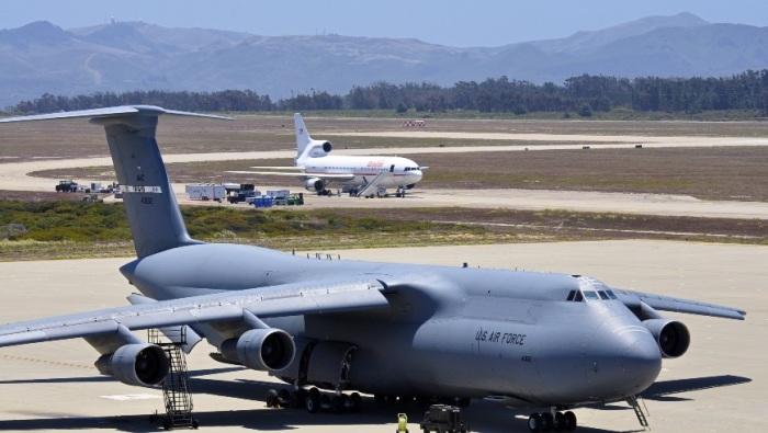 Долгое время Lockheed C-5 Galaxy был самым большим.