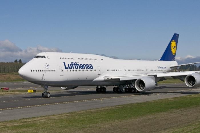 Этот Boeing 747-8I не знает себе равных.