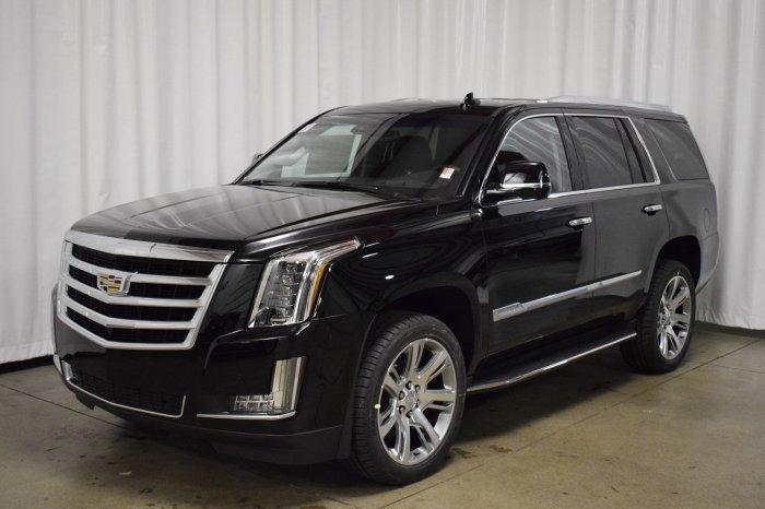 Стиль, мощь и размер в Cadillac Escalade.