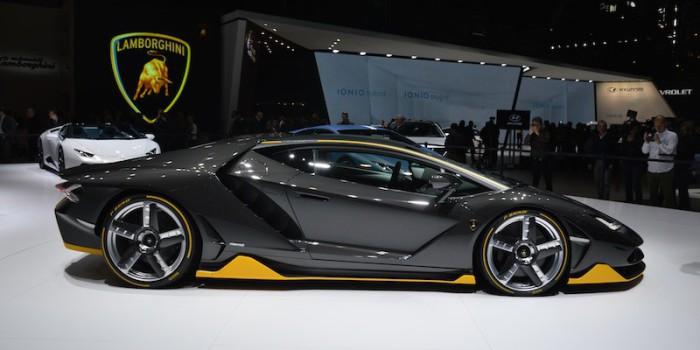Lamborghini Centenario LP 770-4: к 100-летию бренда.