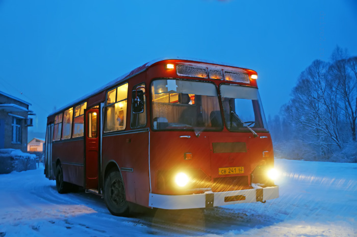 Самый ламповый автобус. /Фото: drive2.com.