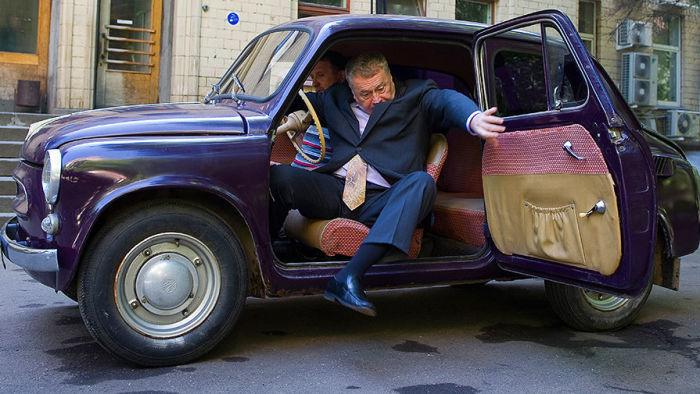 Первый автомобиль Вольфовича.
