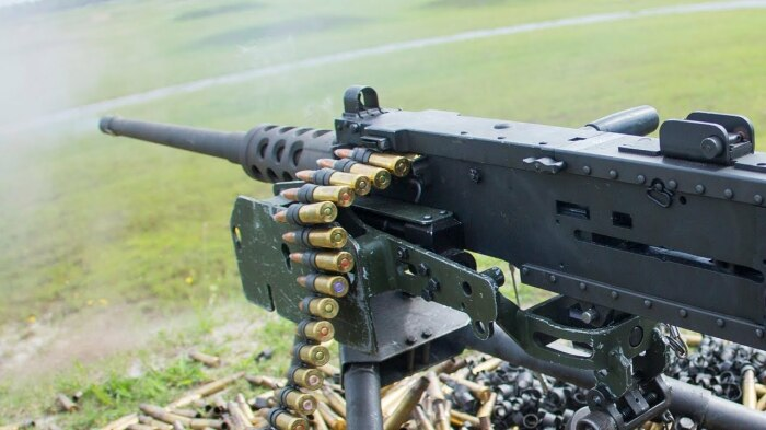 Очень мощный пулемет. /Фото: militaryarms.ru.