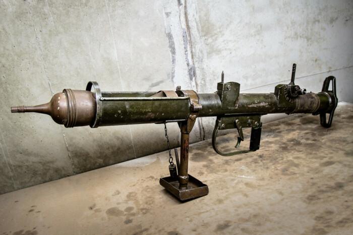 Английский гранатомет был не очень удачен. /Фото: driveatank.com.