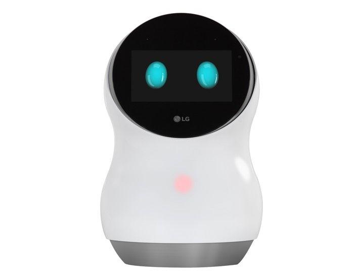LG Hub Robot - робот, который понимает голосовые команды.