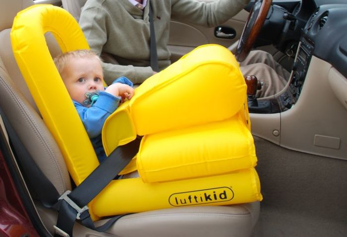 Luftikid - автомобильный спасательный жилет.