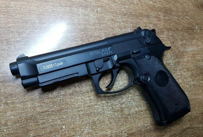 Выглядит почти как боевой пистолет. /Фото: neva-target.ru.