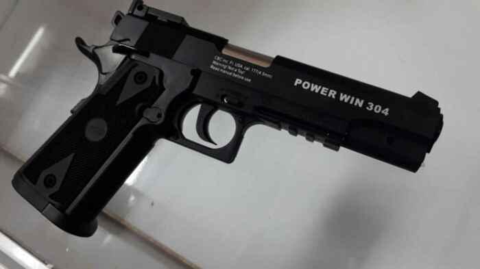 Один из самых красивых пневматических пистолетов. /Фото: forum.guns.ru.