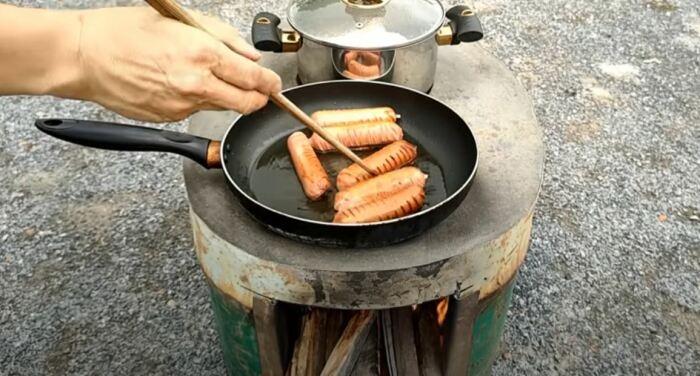 Получится отличная печка. /Фото: youtube.com.