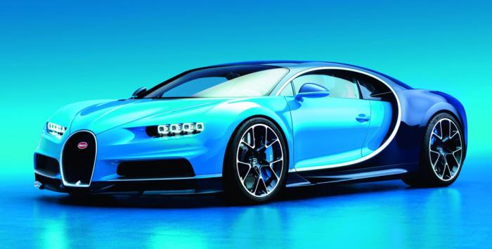 Самый желанный автомобиль в мире - Bugatti Chiron.