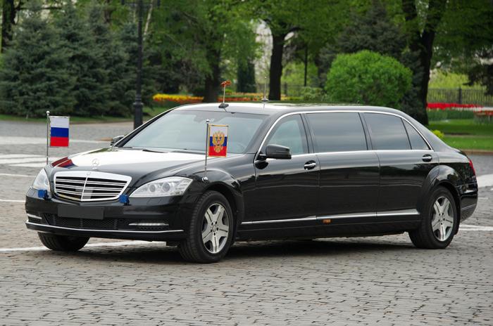 Официальный государственный автомобиль.