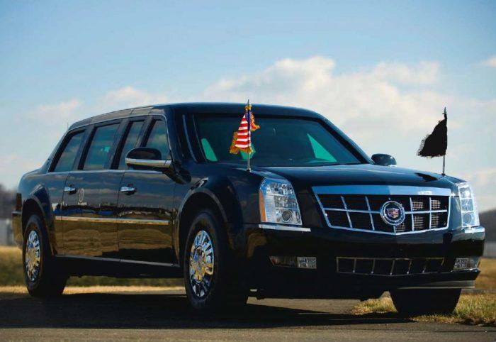 Машина для американца.