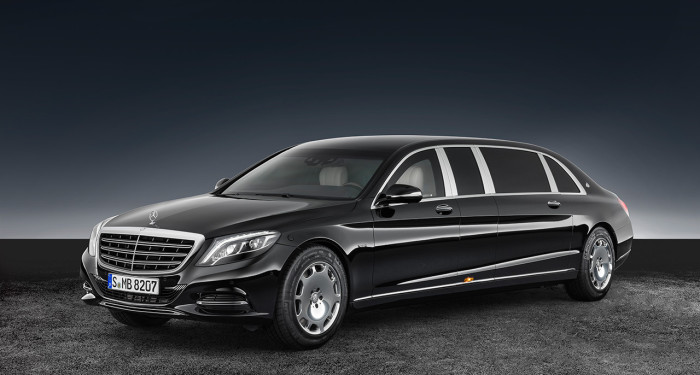 Mersedes-Maybach S600 Pullman Guard.