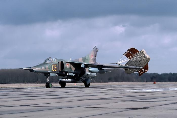 МиГ-27 стал самолетом третьего поколения. /Фото: wikimedia.org.