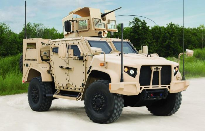Oshkosh L-ATV - новейшая разработка США.