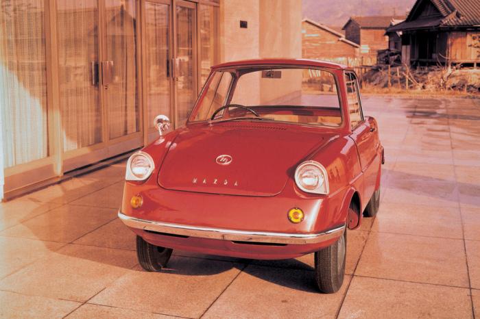 Mazda R360 стал первым серийным авто компании.