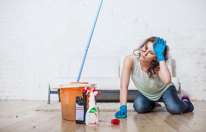 Мытье полов для начинающих.