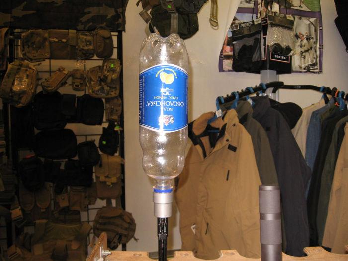 Скорее всего бутылку просто порвет газами. /Фото: popgun.ru.