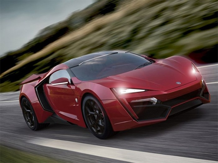 Трудно поверить, что W Motors Lykan Hypersport  столько стоит.