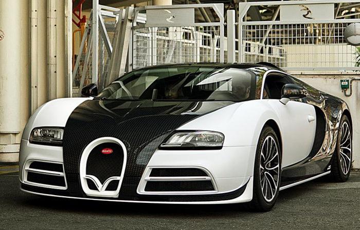 Машина Limited Edition Bugatti Veyron была выпущена ограниченным тиражом.