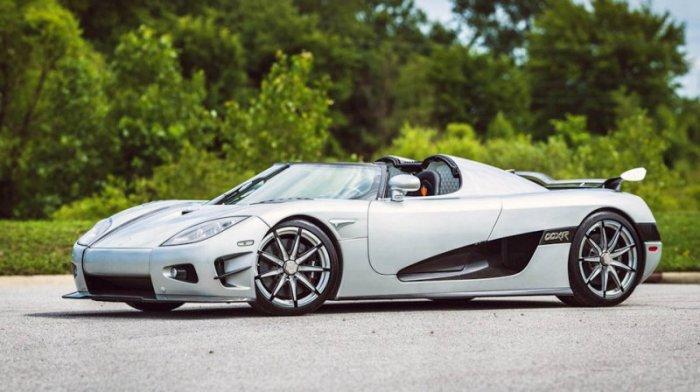 Koenigsegg CCXR Trevita - самый дорогой автомобиль, в своем классе.
