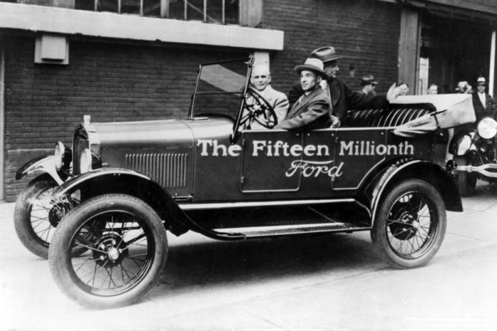 Легендарный Ford Model T никогда точно не считали.