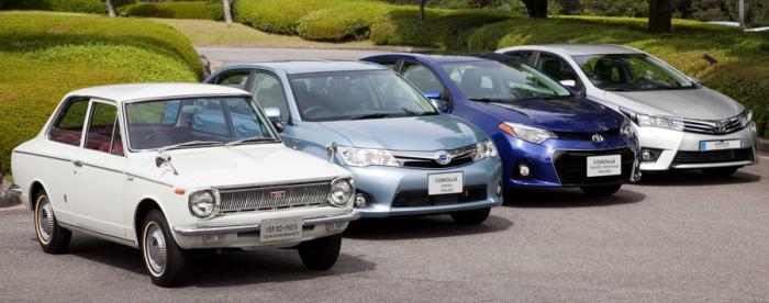 Абсолютный рекордсмен Toyota Corolla.