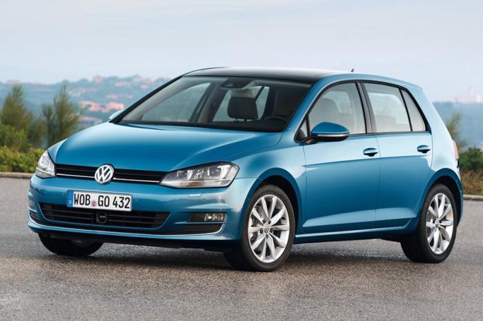 Еще один красавчик Volkswagen Golf.