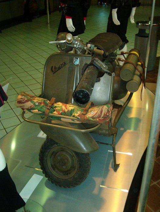 Vespa 150 TAP - гроза танков.
