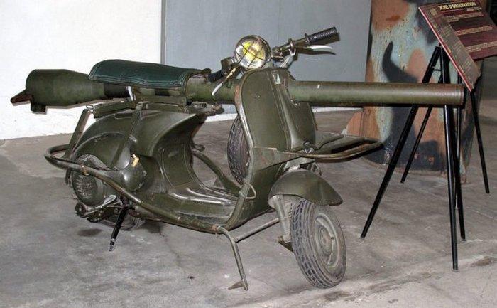 Vespa 150 TAP -идеальная мотопушка.