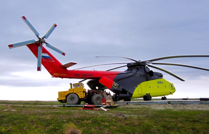 Держит звание самого грузоподъемного вертолета в мире. /Фото: photosight.ru.