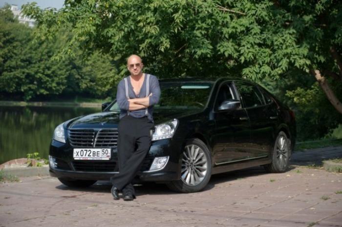 Этот Hyundai Equus Limousine у актера на каждый день.