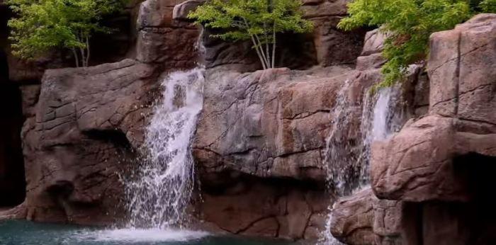 Пять водопадов.