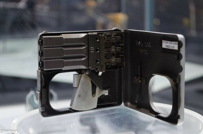 Пистолет для КГБ. /Фото: Pinterest.