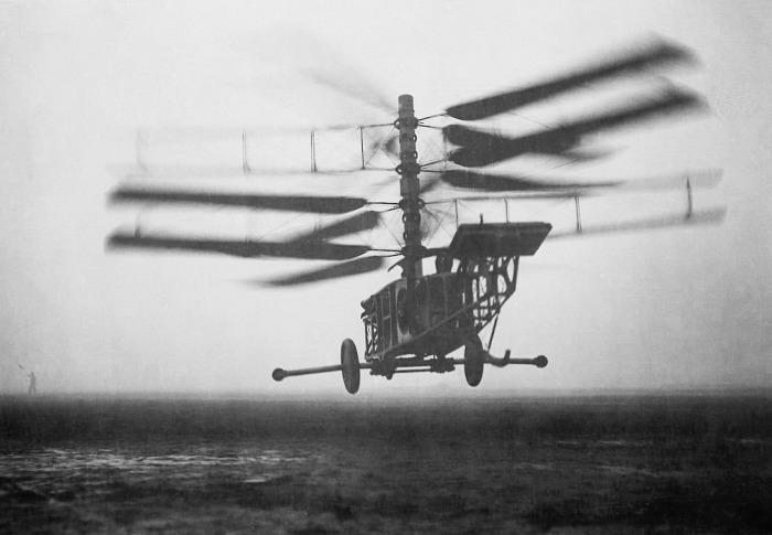 Вертолет Pescara 2F стал первой полноценной машиной.