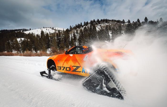 Великолепное творение Nissan для этой зимы.