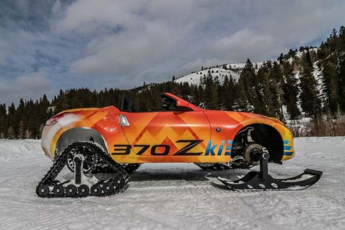 Основатель переработанный Nissan 370Z.