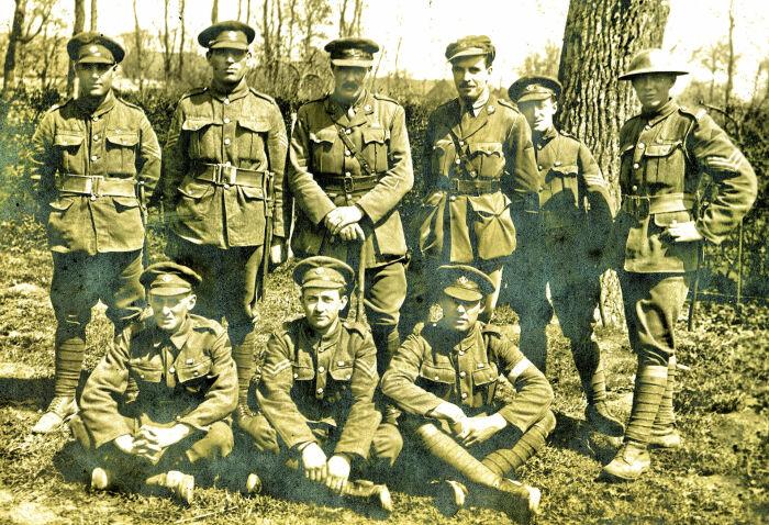 К Первой мировой войне все щеголяли в обмотках. /Фото: worldwar1.com.