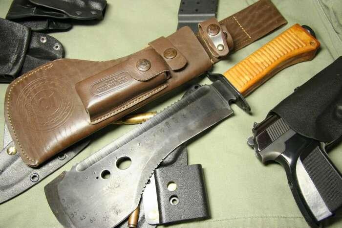 Нож для выживания - всегда специнструмент. /Фото: guns.allzip.org.