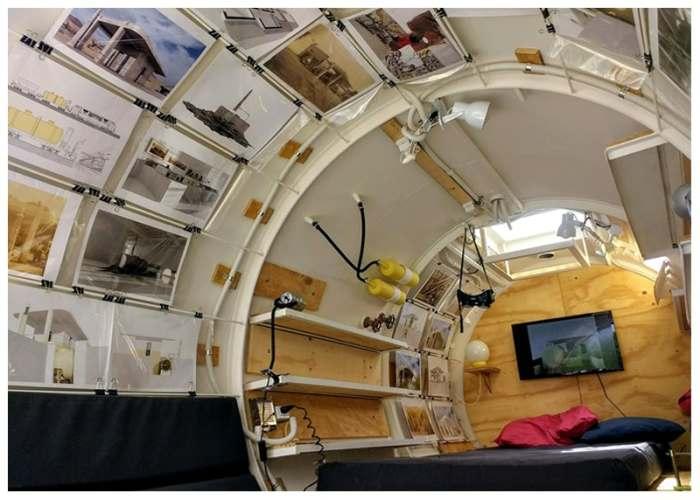 Место для одного человека.  /Фото: newatlas.com.