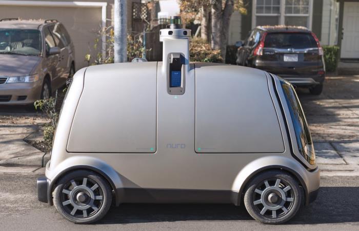 Автоматический автомобиль будущего Nuro.