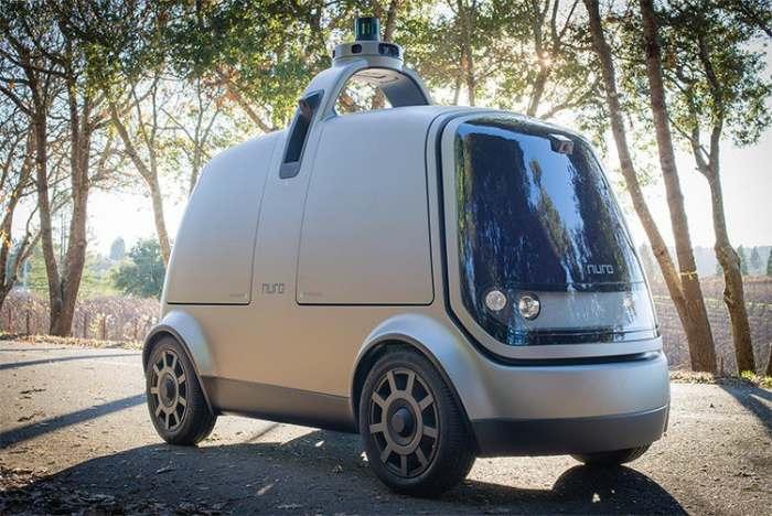 Автоматический автомобиль Nuro выглядит интересно.