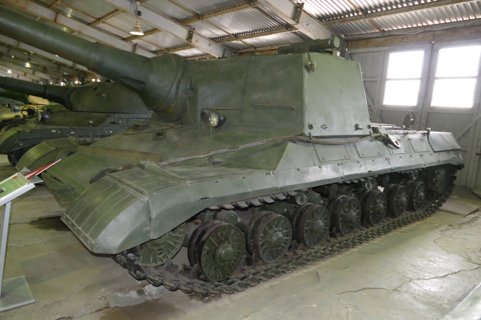 Единственный образец стоит в танковом музее в Кубинке. /Фото: livejournal.com.